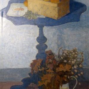 Pieter Fraterman - Stilleven met mand