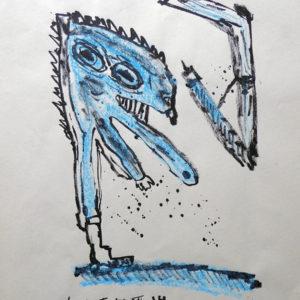 Lucebert - Unica blauw