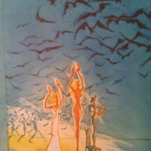 Ronald Tolman - Drie nymphen