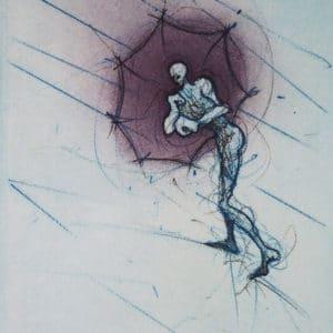 Ronald Tolman - Parapluman blauw