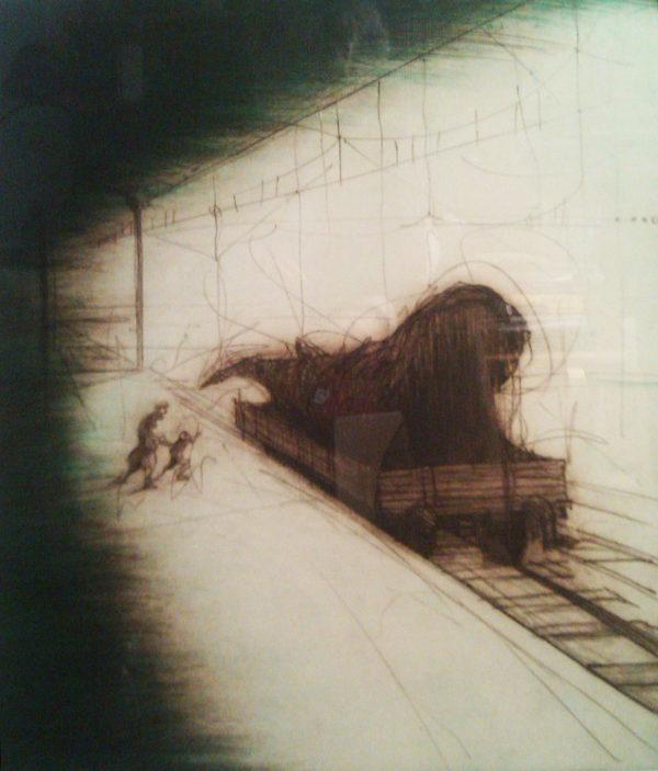 Ronald Tolman - Walvis op wagon